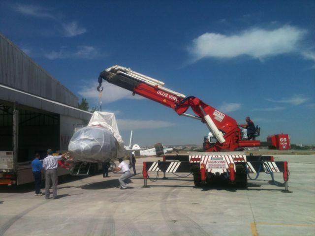 40 - 60 tonluk ağır tonaj grubu kiralık vinç